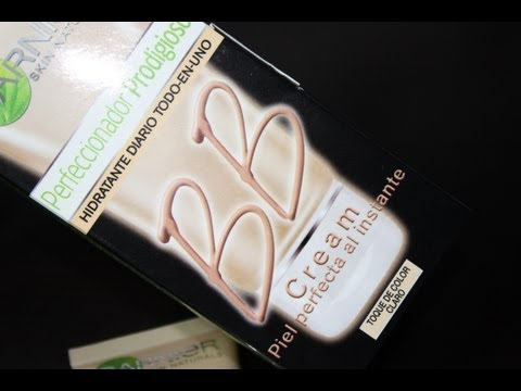 BB CREAM Garnier - Demostración