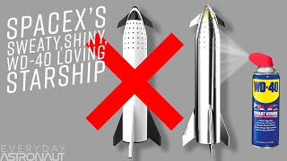 Video Why SpaceX ditched lightweight Carbon Composites for Stainless Steel to make a sweaty Starship MP3, 3GP, MP4, WEBM, AVI, FLV Februari 2019