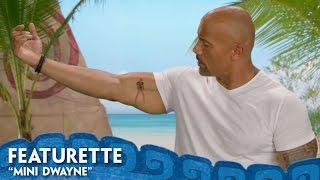 """What if Dwayne Johnson had his own tattoo like Mini Maui that acted as his voice of reason? Disney's Moana opens in theatres in 3D November 23! Get tickets: http://disney.com/moanaticketsFor centuries, the greatest sailors in the world masterfully navigated the vast Pacific, discovering the many islands of Oceania. But then, 3,000 years ago, their voyages stopped for a millennium – and no one knows exactly why. From Walt Disney Animation Studios comes """"Moana,"""" a sweeping, CG-animated feature film about an adventurous teenager who is inspired to leave the safety and security of her island on a daring journey to save her people. Inexplicably drawn to the ocean, Moana (voice of Auliʻi Cravalho) convinces the mighty demigod Maui (voice of Dwayne Johnson) to join her mission, and he reluctantly helps her become a wayfinder like her ancestors who sailed before her. Together, they voyage across the open ocean on an action-packed adventure, encountering enormous monsters and impossible odds, and along the way, Moana fulfills her quest and discovers the one thing she's always sought: her own identity. Directed by the renowned filmmaking team of Ron Clements and John Musker (""""The Little Mermaid,"""" """"Aladdin,"""" """"The Princess & the Frog""""), produced by Osnat Shurer (""""Lifted,"""" """"One Man Band""""), and featuring music by Lin-Manuel Miranda, Mark Mancina and Opetaia Foa'i, """"Moana"""" sails into U.S. theaters on Nov. 23, 2016. Website: http://disney.com/moanaLike us on Facebook: https://www.facebook.com/disneymoanaFollow us on Twitter: https://twitter.com/disneymoanaFollow us on Instagram: https://instagram.com/DisneyAnimation"""