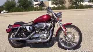 7. Used 2005 Harley Davidson Sportster 1200 Custom Motorcycles for sale