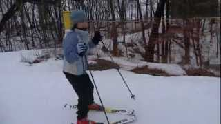 Portage (WI) United States  City pictures : Skiing at Cascade Resort in Portage, Wisconsin USA - Video Two