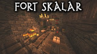 Minecraft: Fort Skalar - Ep8 Feast Hall (Let's Build)