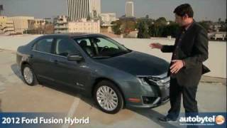 2012 Ford Fusion Hybrid Test Drive&Car Review