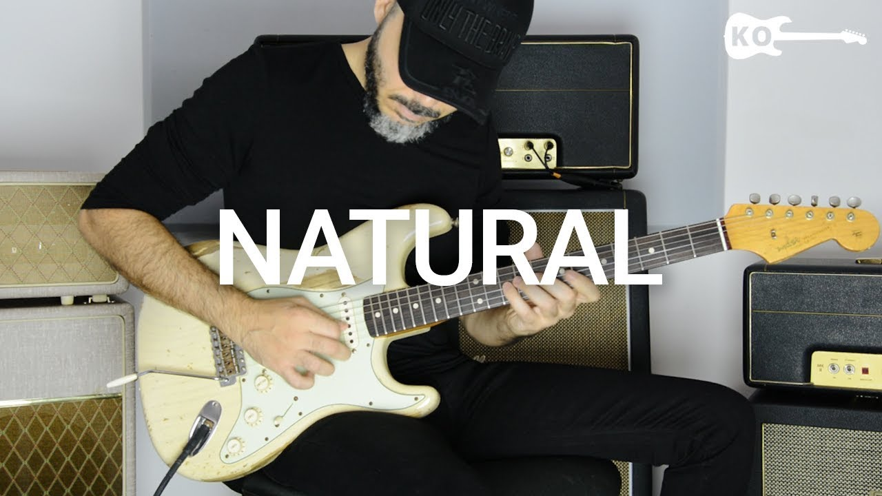 Imagine Dragons – Natural – Electric Guitar Cover by Kfir Ochaion