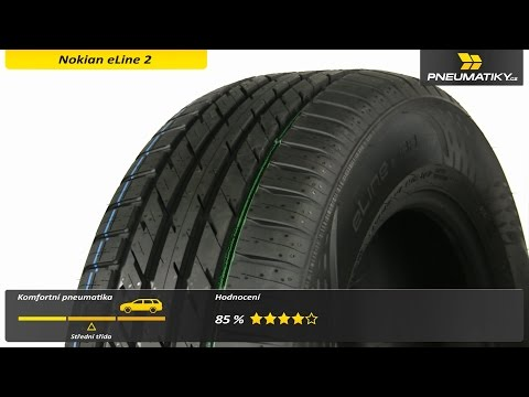 Youtube Nokian eLine 2 185/60 R15 88 H XL Letní