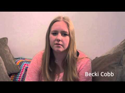 Becki Cobb (22) is raising awareness of the signs of strokes after she had one at just 21.