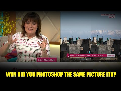 ITV's Lorraine Show Caught Lying! Photoshops The Same Picture To Push For Climate Lockdowns