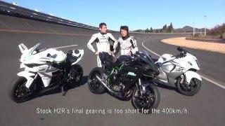 Video Road to 400km/h. Kawasaki Ninja H2R Maximum Speed Test. MP3, 3GP, MP4, WEBM, AVI, FLV Juni 2019