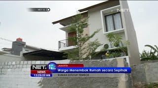 Download Video Satu Unit Rumah di Kawasan Bintaro Ditembok Paksa Oleh Warga - NET12 MP3 3GP MP4