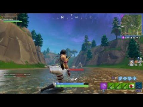 Fortnite longest headshot snipe! (World record)