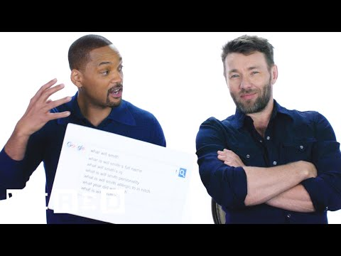 Will Smith & Joel Edgerton Answer the Web's Most Searched Questions | WIRED (видео)