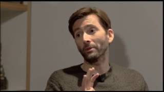 David Tennant talks to Live at Five ahead of the premiere of his new film Mad To Be Normal