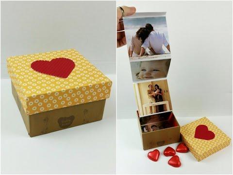 box regalo per le persone che amiamo - tutorial