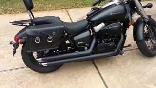8. After - 2013 Honda Shadow Phantom w/Cobra Streetrod Slashdown exhaust