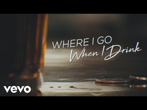 Chris Young – Where I Go When I Drink (Lyric Video)