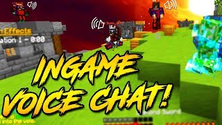 IN GAME VOICE CHAT ON SKYWARS! (Hypixel Skywars)