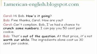 تحدث الانجليزية الأمريكية المحادثة 11