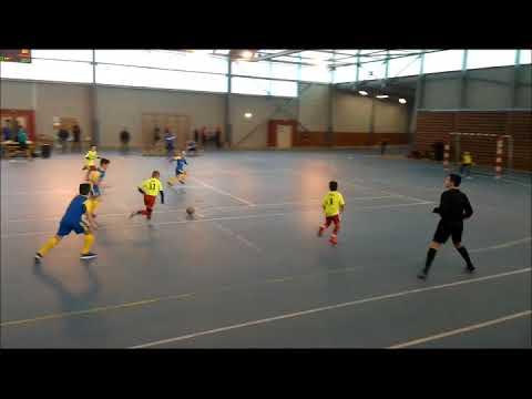 Phase finale du Championnat Départemental 2018 de futsal U11 - 04/02/2018