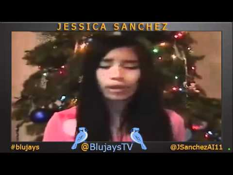 Jessica Sanchez singing AVE MARIA