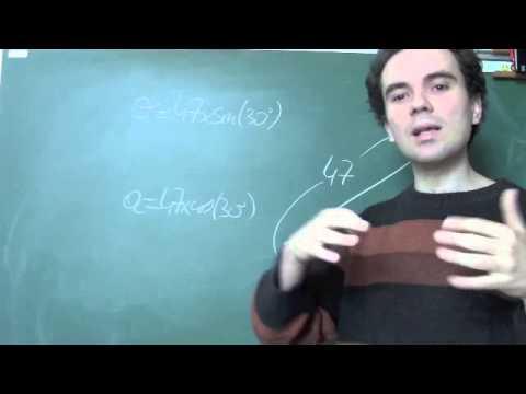 comment trouver la valeur de x dans un triangle