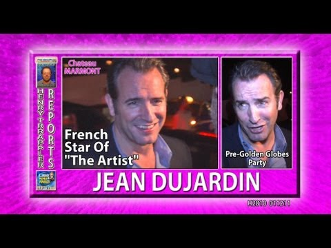 "Jean Dujardin French Star of ""The Artist"" Parties in Hollywood"