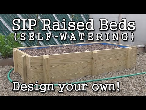 Self Watering Raised Bed Design: How To Build Your Own SIP (Sub Irrigated  Planter) Wicking Bed  AlboPepper.com