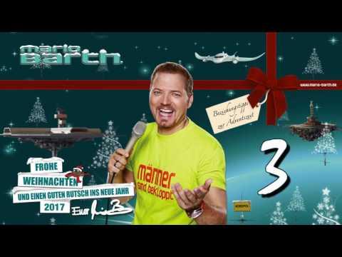 3. Dezember 2016 /// Beziehungstipps zur Adventszeit - von und mit Mario Barth (видео)