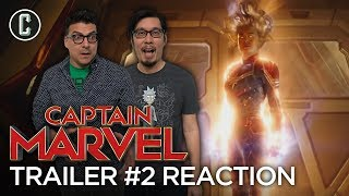 Captain Marvel Trailer #2 Reaction and Review by Collider