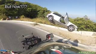 Video MOTORCYCLE CRASHES & FAILS || ANGRY PEOPLE vs.  BIKERS / ROAD RAGE / BAD DRIVER (#28) MP3, 3GP, MP4, WEBM, AVI, FLV Mei 2017