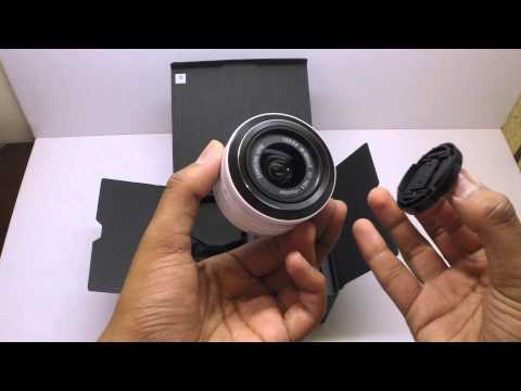 Samsung NX2000 Unboxing