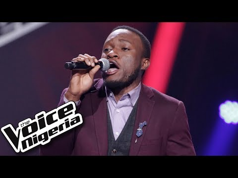 "Ebube Obioma Sings ""Too Close"" / Blind Auditions / The Voice Nigeria Season 2"