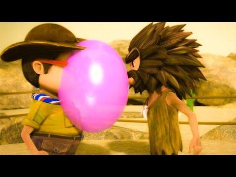 Oko Lele - Episode 5 - Bubble Fight - Super ToonsTV