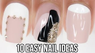 Video DIY 10 EASY nail ideas! nail art compilation MP3, 3GP, MP4, WEBM, AVI, FLV Agustus 2019