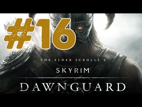 Skyrim: Dawnguard DLC Walkthrough: Part 16 Unseen Visions (Gameplay/Commentary) Xbox/PS3/PC