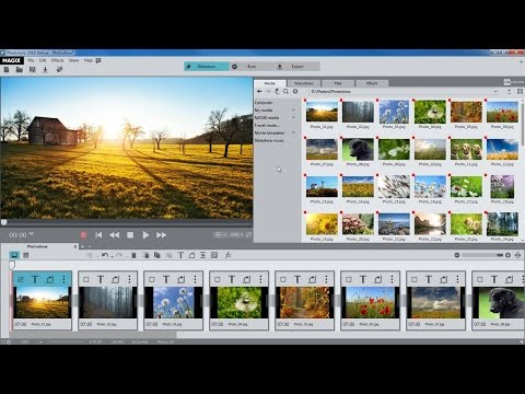 MAGIX Photostory 2016 Deluxe – Introductory video tutorial (INT)