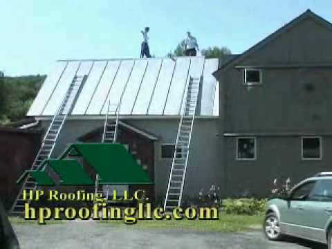 HP Roofing  Gymnasts on the Roof commercial