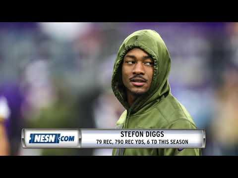 Video: Vikings vs. Patriots Inactives: Rex Burkhead, Stefon Diggs to play
