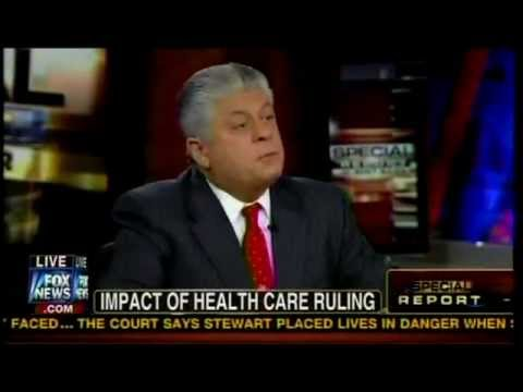뜽 - Judge Andrew Napolitano, a Libertarian and Dr. Charles Krauthammer, a conservative and practicing Psychiatrist, both wanted the Affordable Care Act(ACA) decl...