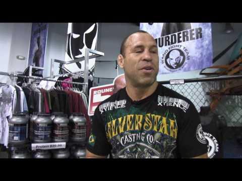 Wanderlei Silva Video Blog  Silverstar Walkout Tshirt UFC 116  WFT fighters fights May 22