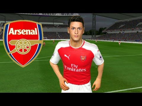 Cara Membuat Tim Arsenal ★ Kits Logo & Pemain ★ Dream League Soccer 2018