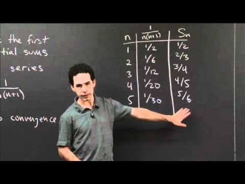 Limit of a Series   MIT 18.01SC Single Variable Calculus, Fall 2010
