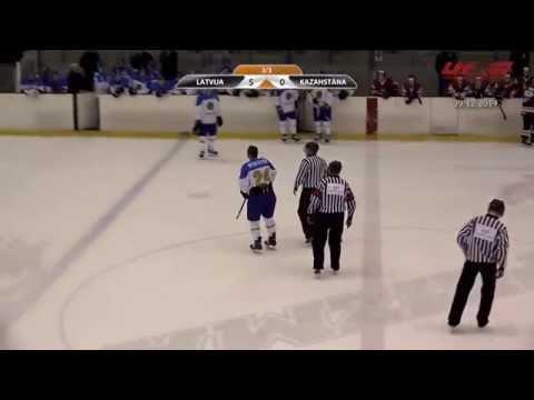 Видеообзор матча Казахстан (U-20) - Латвия (U-20) - 0:5