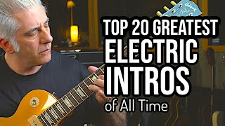 Video TOP 20 ELECTRIC GUITAR INTROS OF ALL TIME MP3, 3GP, MP4, WEBM, AVI, FLV September 2019