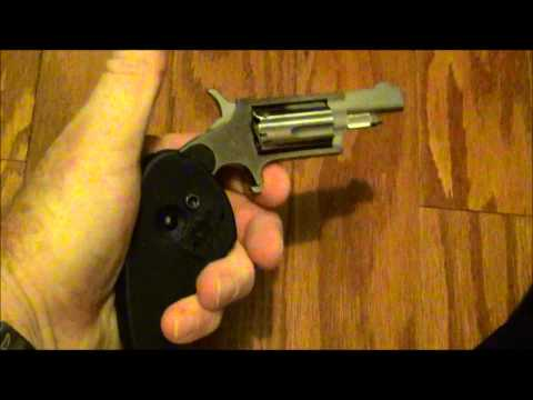 North American Arms 22 Magnum with Folding Grip