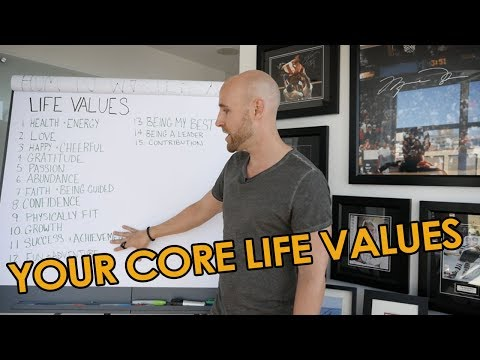 How To Determine Your Core Life Values