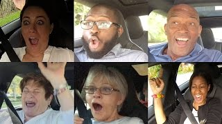 Tesla P85D Insane Mode Launch Reactions Compilation - Explicit Version