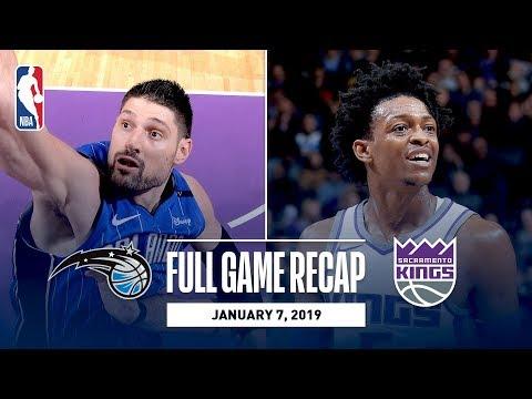 Video: Full Game Recap: Magic vs Kings | Fox and Bogdanovic Shine in Sacramento