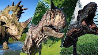 ALL FALLEN KINGDOM DINOSAURS - Jurassic World Evolution