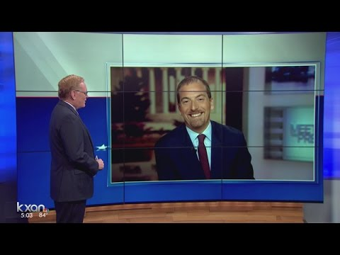 NBC Meet the Press Chuck Todd talks to KXAN about developments in Clinton emails