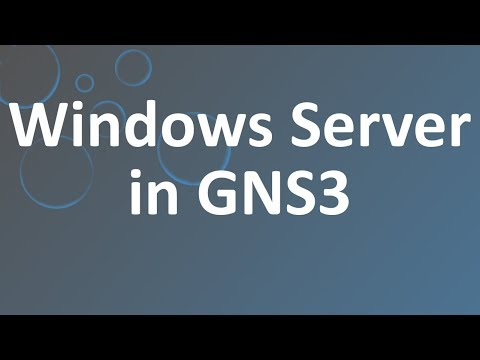 Windows Server in GNS3
